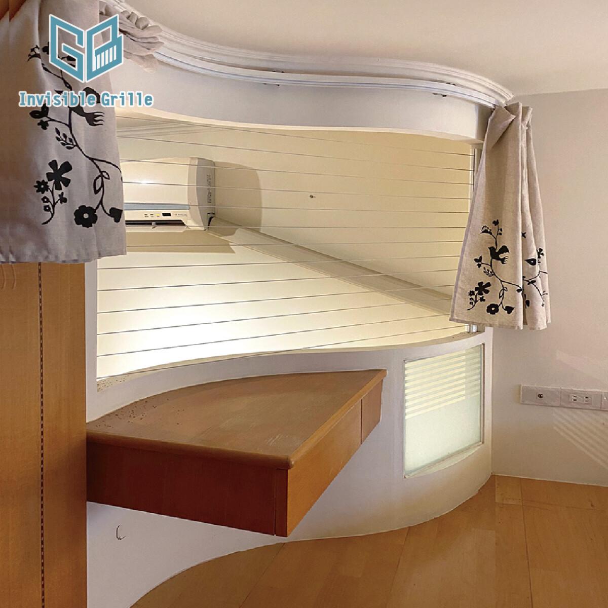 樓中樓 , 台北隱形鐵窗 , 防墜網