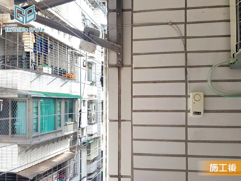 台北隱形鐵窗 , 防盜