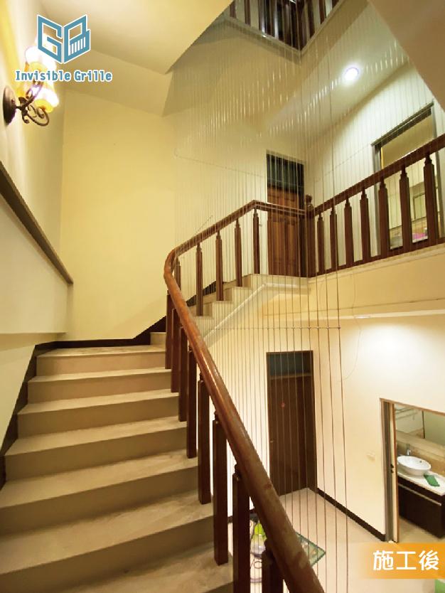 新竹隱形鐵窗 , 樓梯防墜