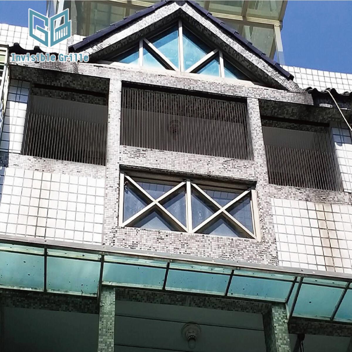 鴿害 , 台中隱形鐵窗 , 防鴿 , 防鳥刺