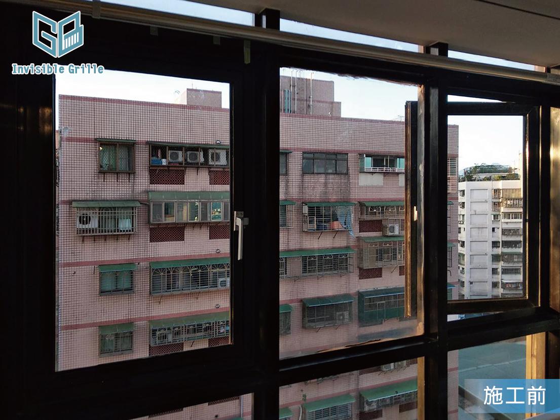 外推窗 隱形鐵窗 防墜網